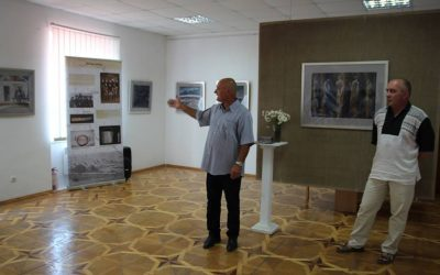 Відкриття виставки в Хусті (галерея)