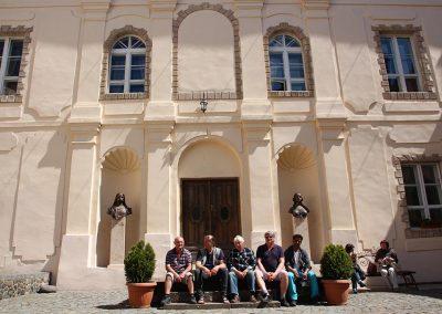 Az Ungvári várban