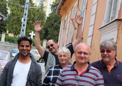 balról jobra Chander Parkash, Riszard Lytwiniuk, Ruppert János, Matl Péter, Drienyovszki János